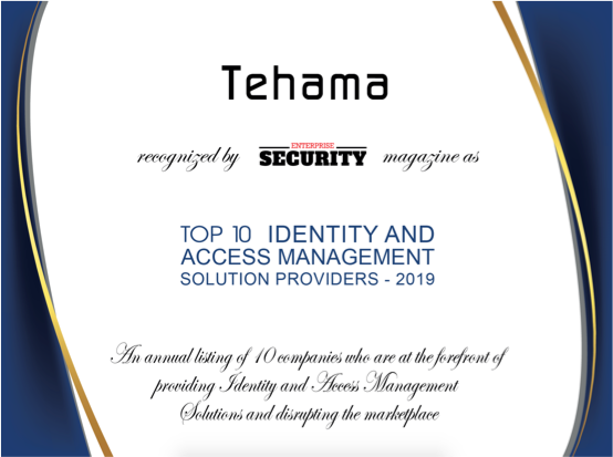 Top 10 Identity and Access Management Solutions Provider Certificate