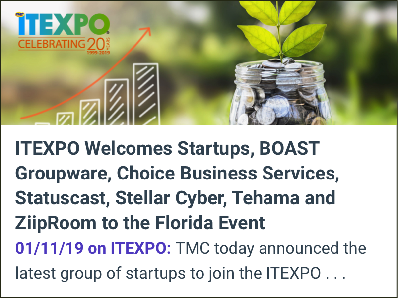IT EXPO welcomes Tehama